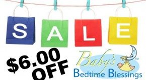 $6.00 OFF – Baby's Bedtime Blessings